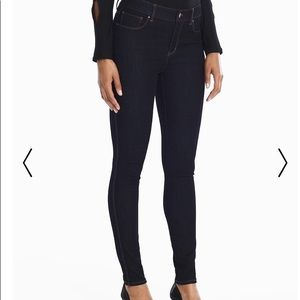 White House Black Market Jeans - White House Black Market Sculpt Legging Dark Denim